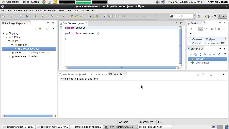 OIM 11G API