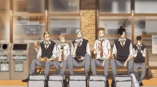 ハイキュー!! OVA リエーフ見参! | 音駒高校 制服 Nekoma High | The Arrival of Haiba Lev
