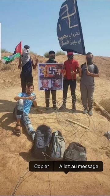 Bds,palestiniens nazis