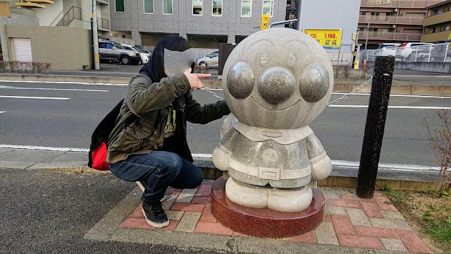 宮城県仙台市 アンパンマン像