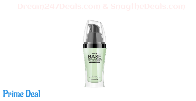 50% OFF  CCPT Makeup Face Bace Primer Foundation for All Skins - Pore Minimizer Shine Control Make up to Hide Wrinkles and Fine Lines-Green