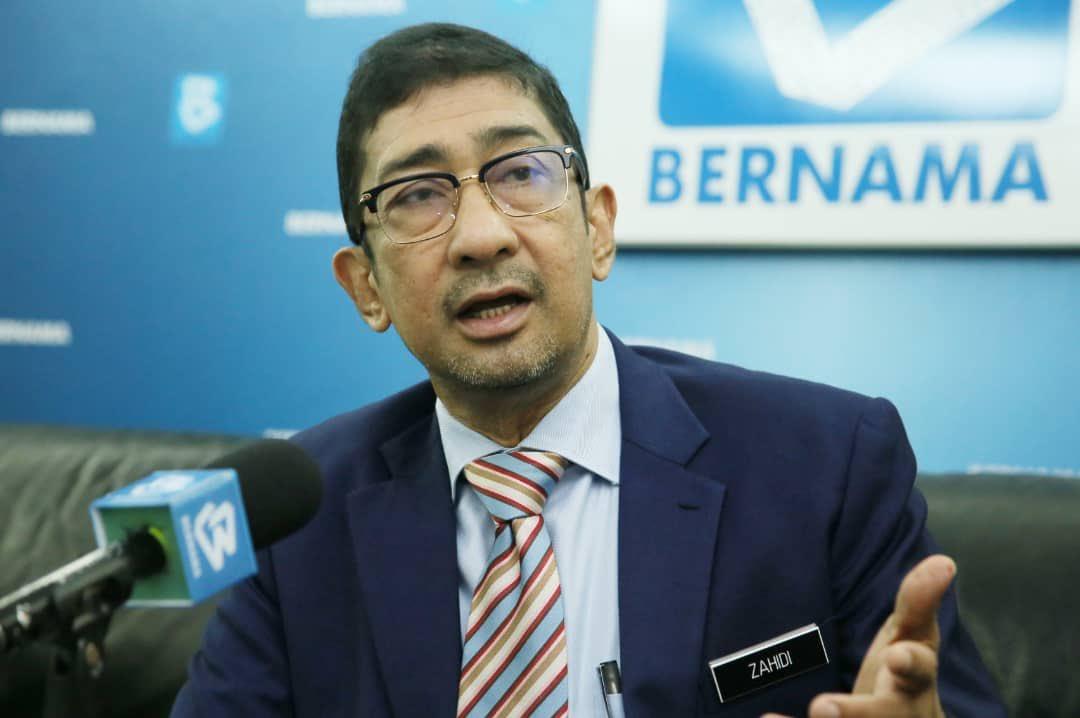 YB Datuk Zahidi Zainul Abidin Disahkan Positif COVID-19