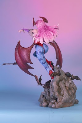 "Morrigan Aensland de ""Vampire Resurrection"" - Hand Made Object"