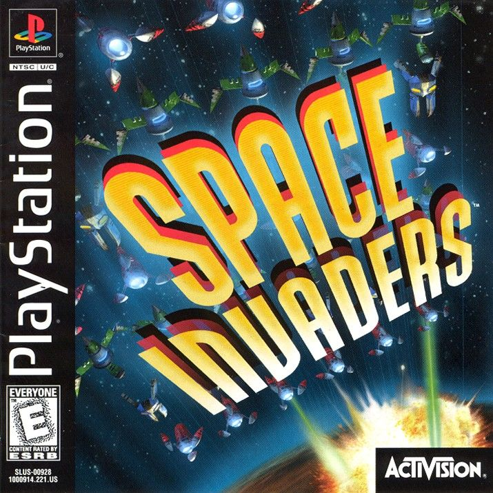 Space Invaders - PS1 - ISOs Download