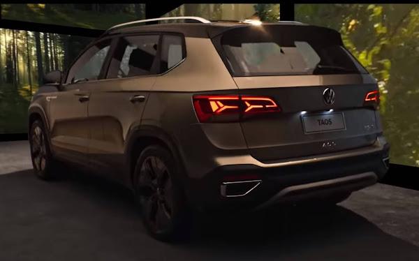 Volkswagen Taos: produção em série na Argentina começa sexta-feira
