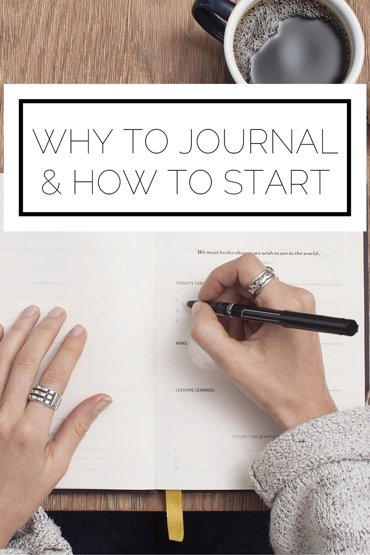 Why To Journal & How To Start