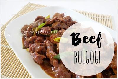 Resep Beef Bulgogi Korea