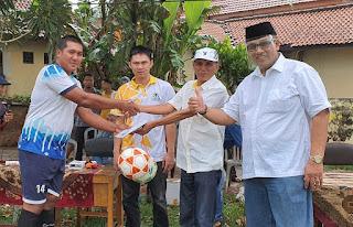 Bersama Golkar dan Karangrejo Bersatu, Andi Surya Meresmikan Turnamen Sepakbola