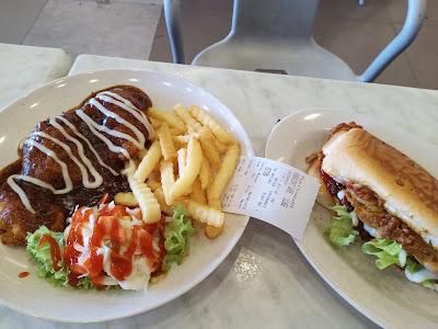 Lunch Chicken Chop Dan Tauhu Singapura Yang Sedap