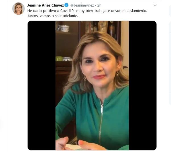 El anuncio de la presidenta se dio a través de las redes sociales / TWITTER
