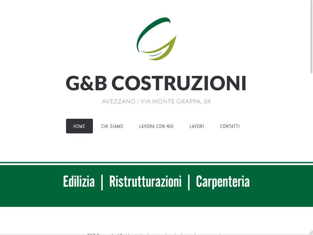G&B Costruzioni - Avezzano | Edilizia, Ristrutturazioni, Carpenteria