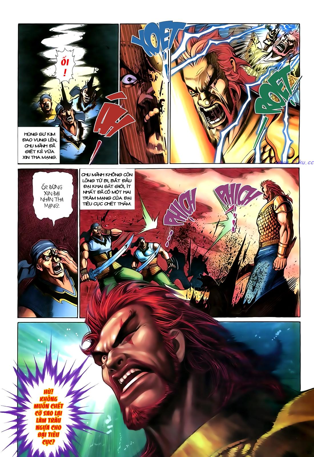 Anh hùng vô lệ Chap 18 trang 23