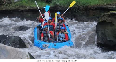 Wisata kesambon rafting