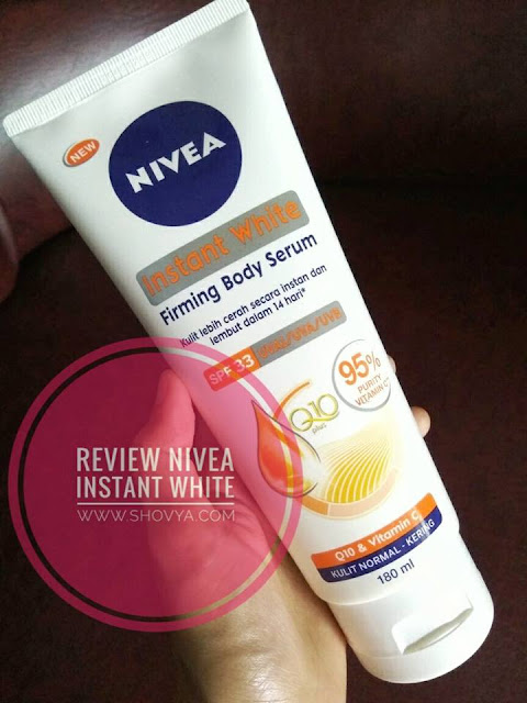 Review Nivea Instant White Firming Body Serum