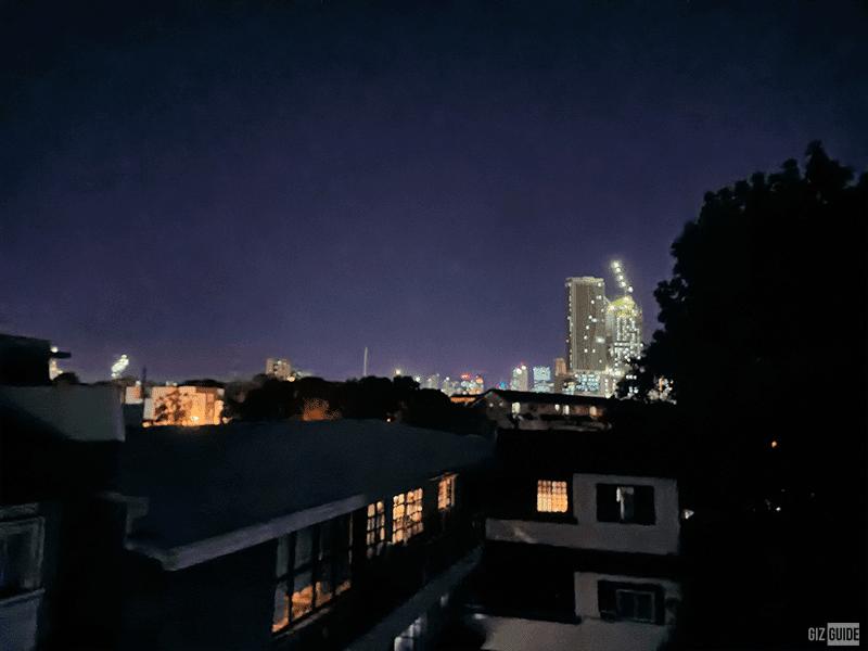 Main camera Super Night mode