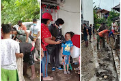 Peduli Bencana, Jemaat GMIM Nazareth Tangkunei Berbagi Sembako