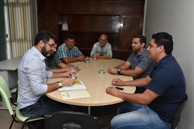 Sairé recebe visita de comitiva do município de São Benedito do Sul