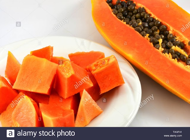 papaya face pack for skin pimples in hindi( papaya for skin)