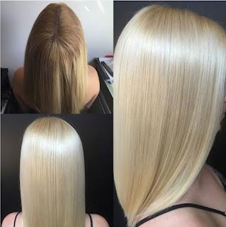Phục hồi tóc sau khi tẩy tóc