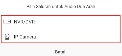 Cara setting Two Way audio DVR Hikvision