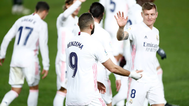تشكيلة ريال مدريد الرسمية لمواجهة إيبار اليوم الاحد في الدوري الاسباني