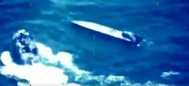 VIDEO: Así es como Marina intercepta Narcosubmarino de El Cártel de Sinaloa
