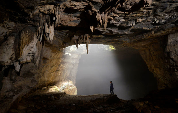 Mother Nature Er Wang Dong Cave In China - Er wang dong cave china large weather system