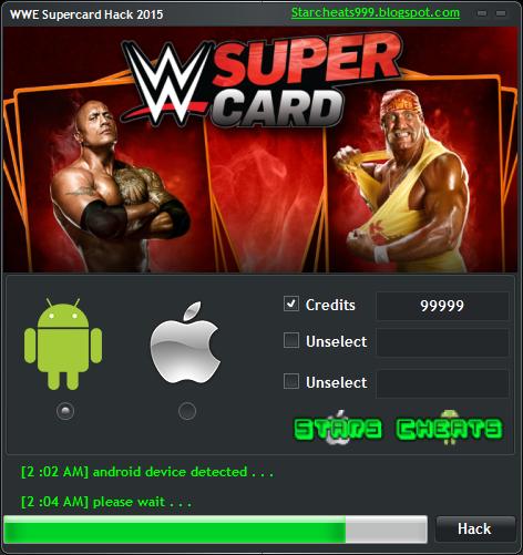 WWE Supercard Hack – Credits Generator