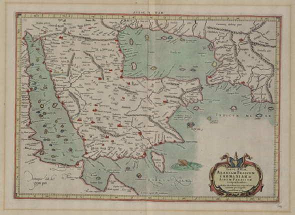 شاهد صورة نادرة أقدم خريطة لليمن والجزيرة العربية على الإطلاق
