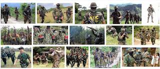Força paramilitar os paramilitares ou Milícias