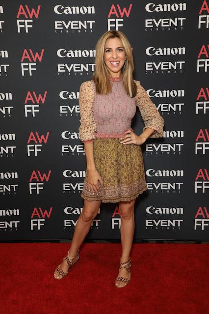 Samantha Brett at 2021 Australian Woman's Film Festival Launch