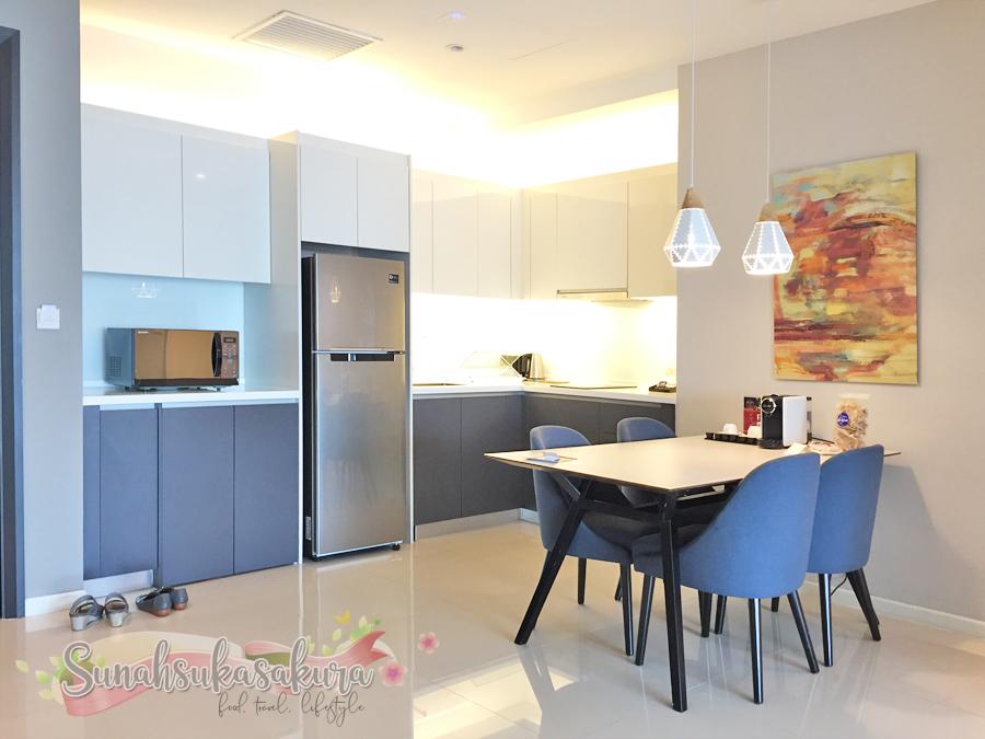 Executive Floor, Level 32, Suasana All Suites Hotel Johor Bahru Kini Dibuka!