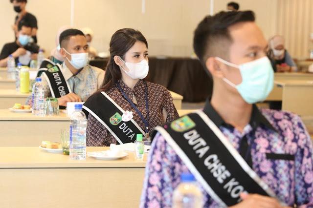 Sekda Bekali Finalis Duta CHSE dengan Strategi Penanganan Covid-19 di Batam