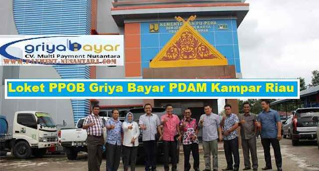 Loket PPOB Griya Bayar PDAM Kampar Riau