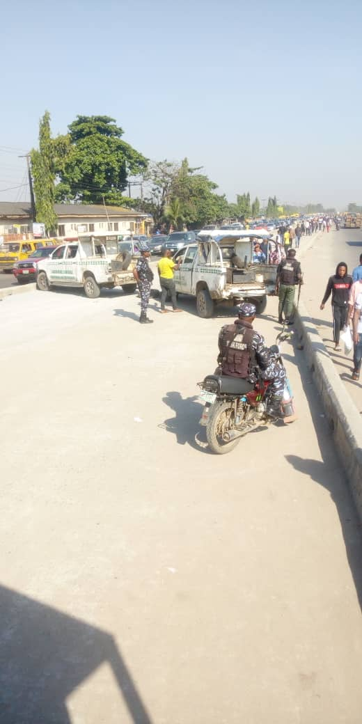 Lagos Task Force Assaults Journalist in Ikeja