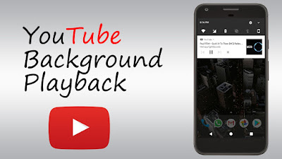 YOUTUBE BACKGROUND PLAYBACK