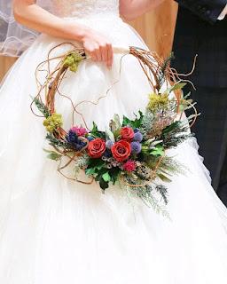 K'Mich Weddings - wedding planning - wedding bouquet - wedding services - hoop bouquets