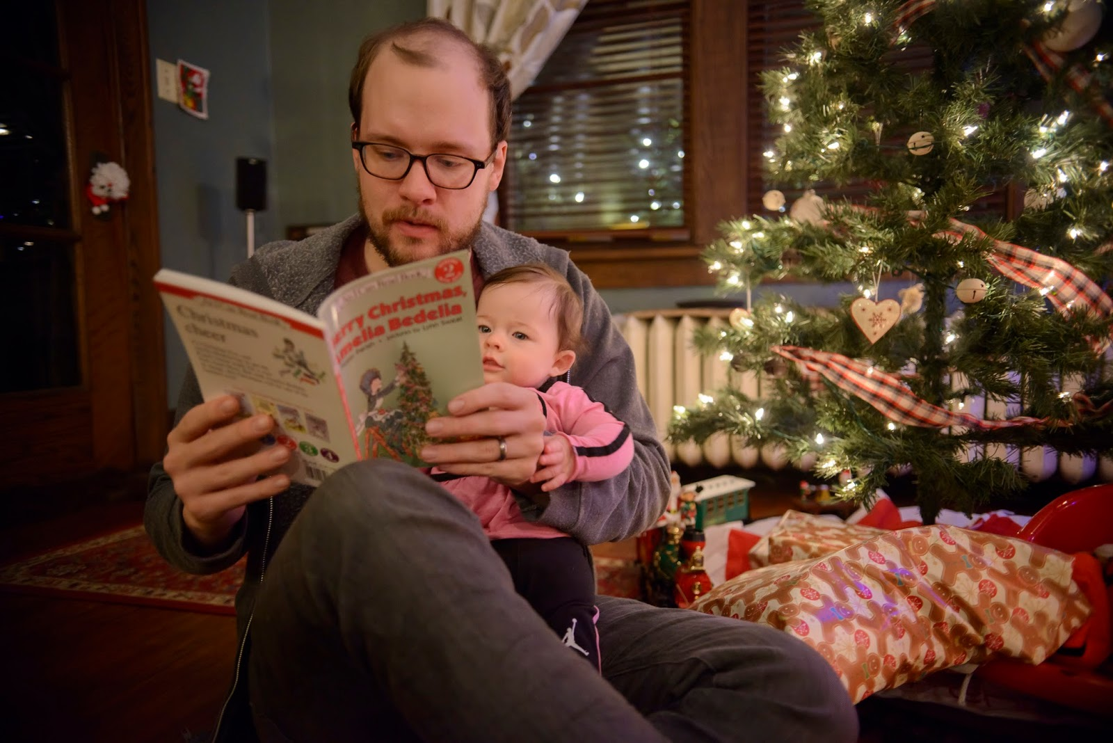 On The Twentieth Day Of Advent We Read A Christmas Book To
