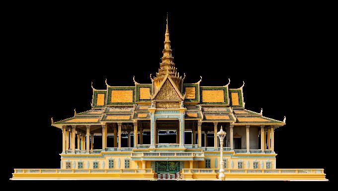 Cambodia Royal Palace Free png file Phnom Penh Royal Palace