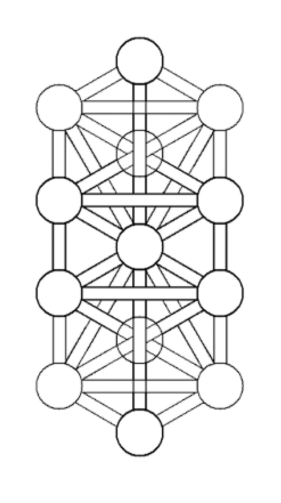 Iva kenaz kabbalistic tree of life as above so below the hebrew alphabet and the nordic runes may actually be derived from the six pointed star patterns hagalaz another symbol of the tree of life biocorpaavc Choice Image