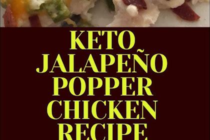 KETO JALAPEÑO POPPER CHICKEN RECIPE