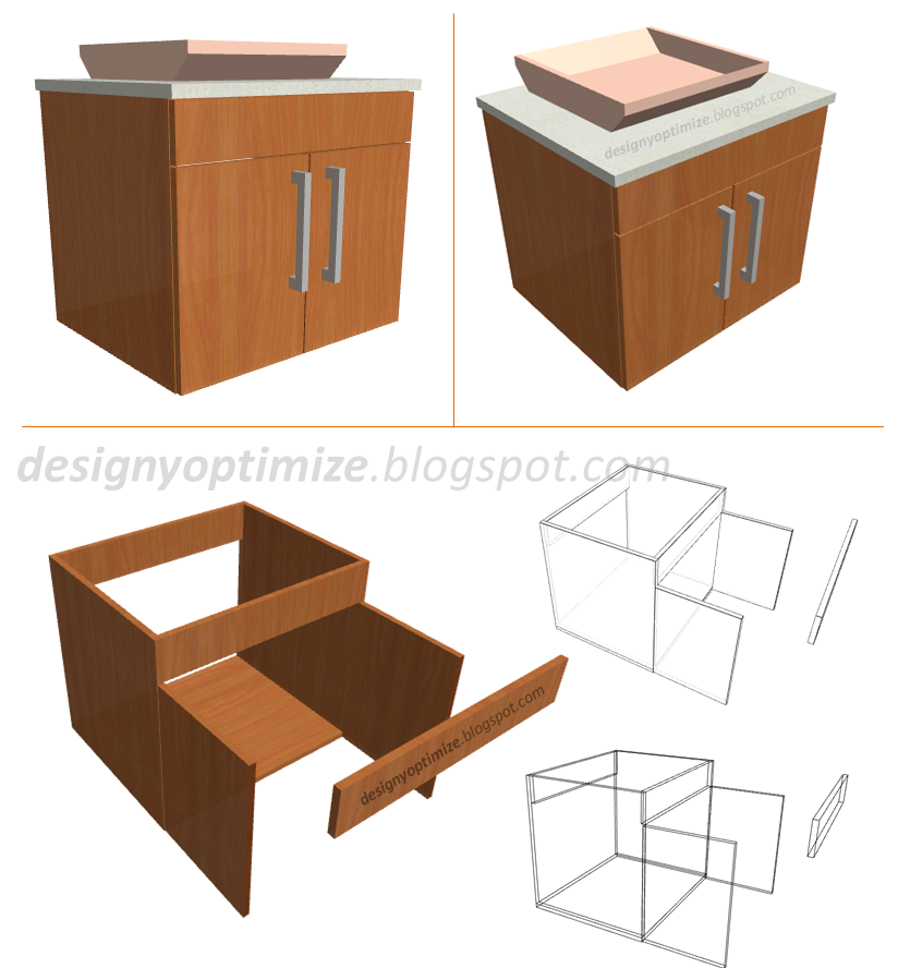 Dise o de muebles madera construcci n mueble madera para - Mueble de bano madera ...
