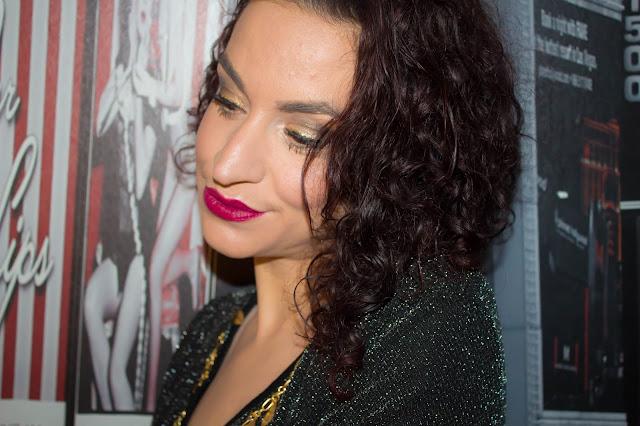 Monday Shadow Challenge : Un maquillage pailleté pour les fêtes 💕