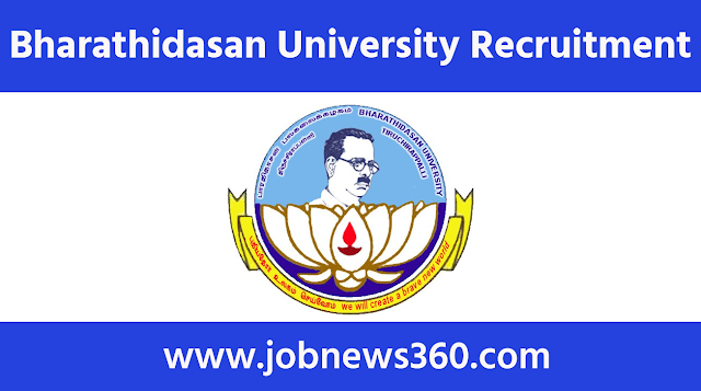 Bharathidasan University Recruitment 2021 for Junior Research Fellow