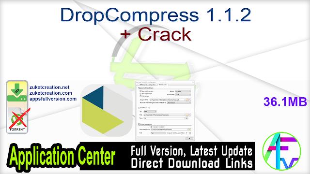 DropCompress 1.1.2 + Crack
