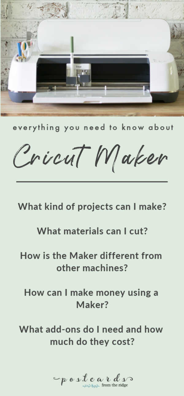 questions and answers about the cricut maker