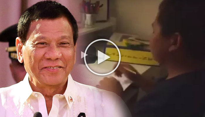 Pres. Duterte Appears In Fil-am Student's School Video Project