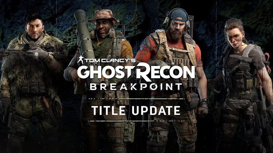tom clancys ghost recon breakpoint first title update ai teammates fixes changes patch november pc ps4 xbox one update 103 ubisoft
