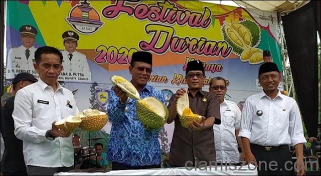 Festival Durian Kalijaya, Tingkatkan Perekonomian Masyarakat