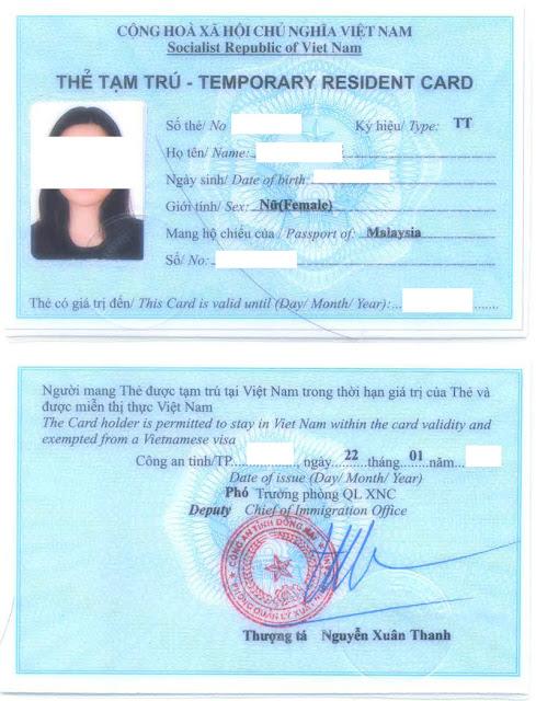 Dịch vụ làm thẻ tạm trú cho người nước ngoài uy tín 2